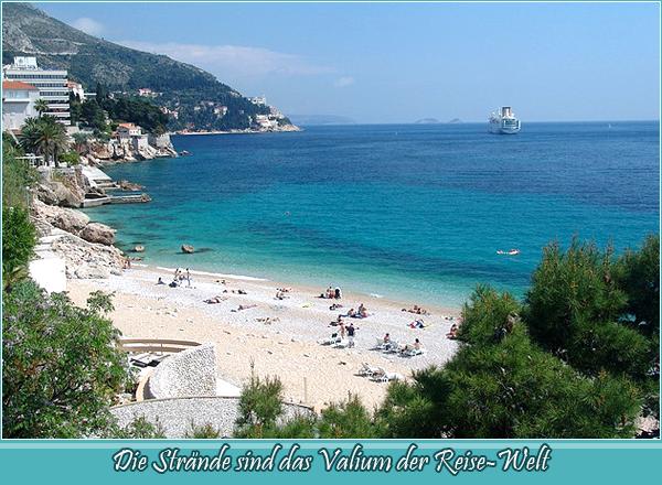 Beaches are the Valium of the travel world