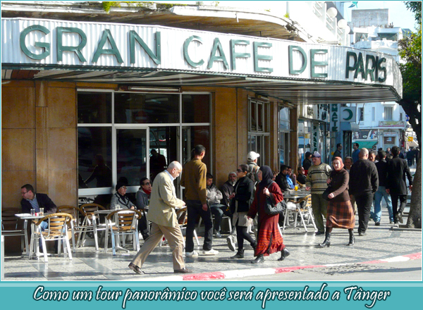 A panoramic tour will introduce you to Tangier